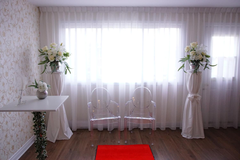 Célébration de mariage civil à Montréal