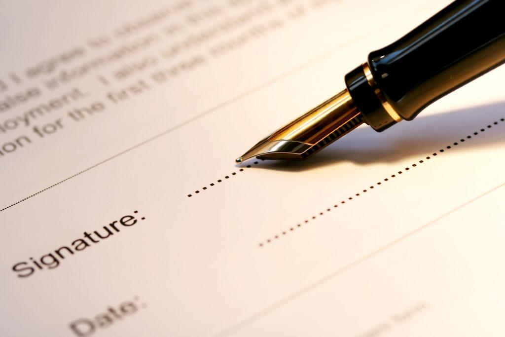 Modèle de testament rédigé par un notaire