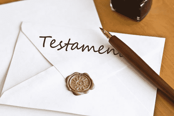 testament notarié